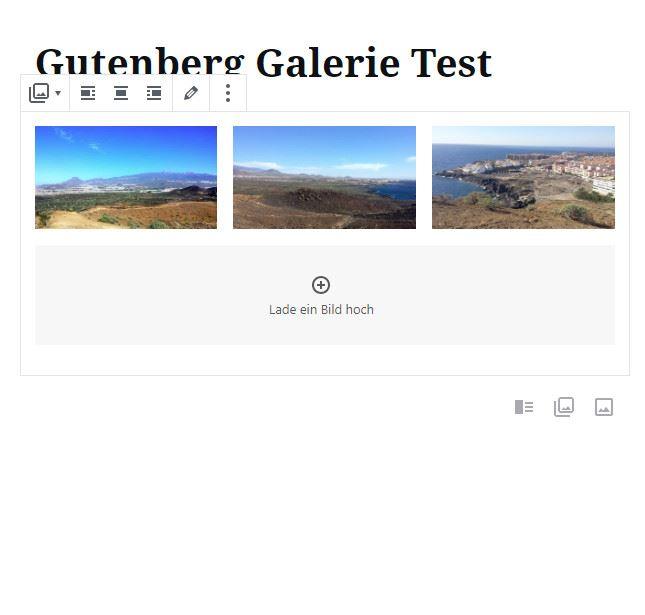 Gutenberg-Galerie-Test-Backend